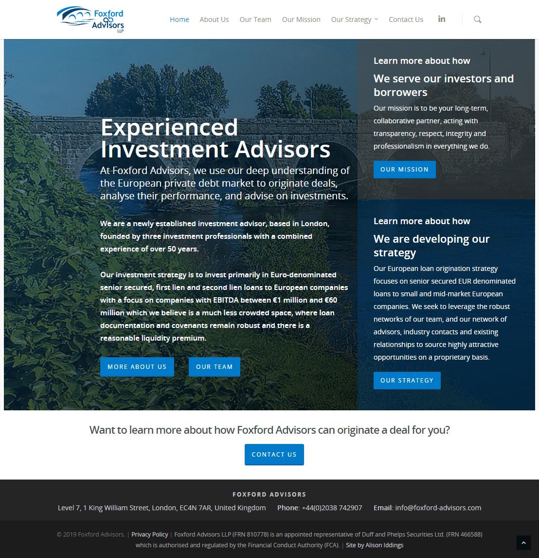FoxFord Advisors